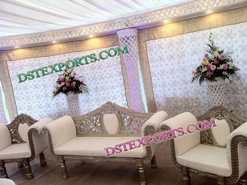 Muslim Walima Lighted Stage Set