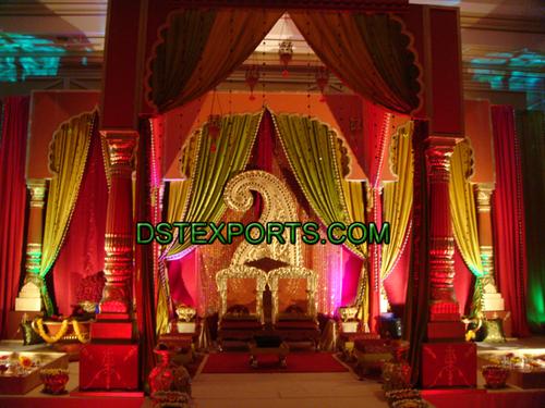 New Muslim Wedding Stage