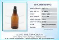 300 ML AMBER BRUT BOTTLE