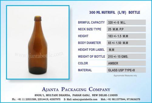 300 ML NUTRIFIL (LW) BOTTLE