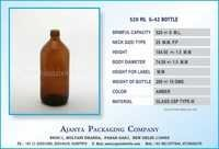 520 ML  G-42 BOTTLE