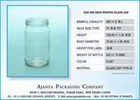 200 GM NEW PROTIN PLAIN JAR