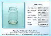 300 ML LUG JAR