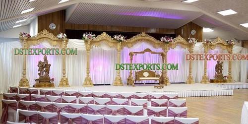 Traditional Hindu Wedding Stage Set
