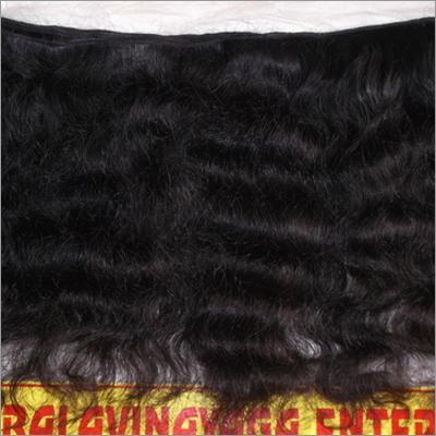 Natural Wavy Human Hair - Machine Weft
