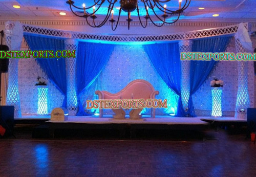 Latest Lighted Walima Stage Set