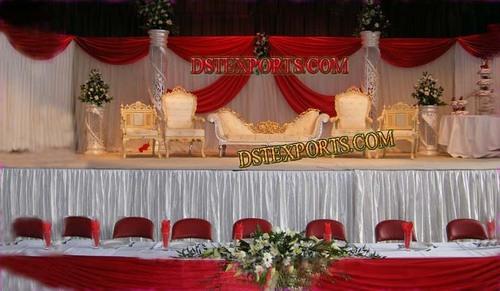 Stylish Mughal Wedding Stage