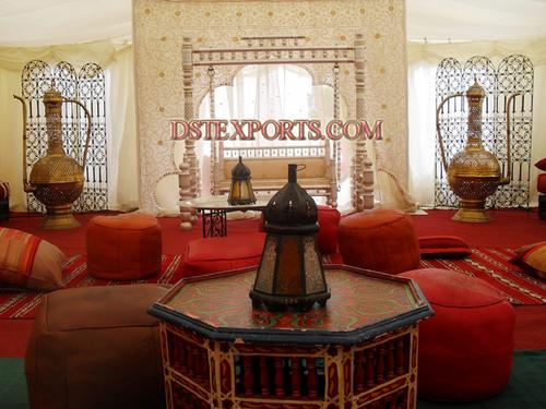 Royal Wedding Mehandi Stage Set