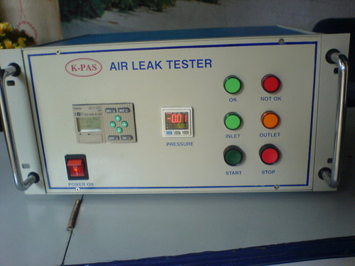 Air leak tester