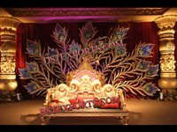 Sri Lanken Wedding Stage Set