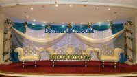 New Muslim Walima Stage Set