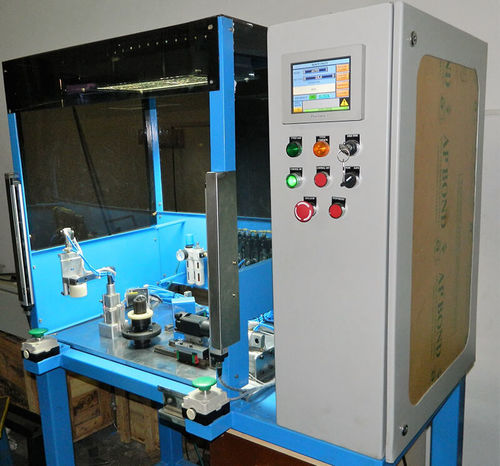 Block Clip fitting machine