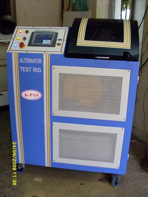 Alternator test rig