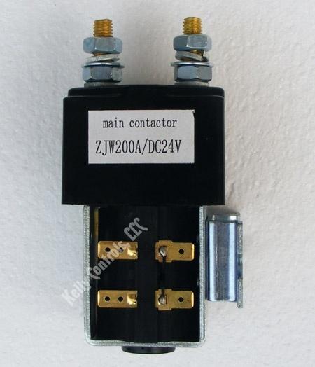 Main Contactor ZJW 24VDC Coils 200Amps