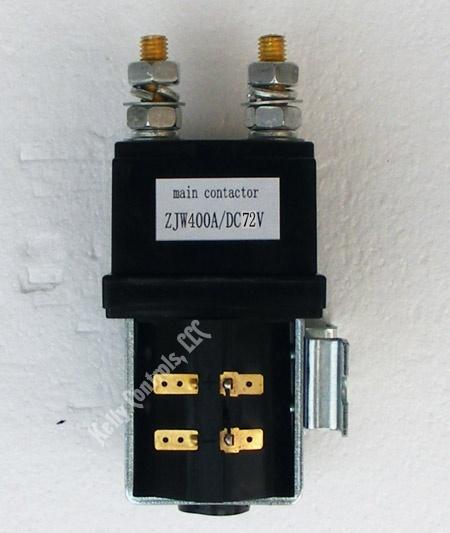 Main Contactor ZJW 72VDC Coils 400Amps