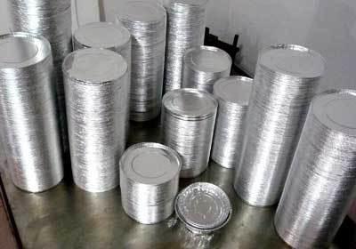 Aluminium Foil Lid cutting Machines