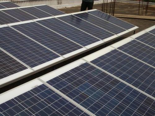Industrial  Grid Solar Power Plant