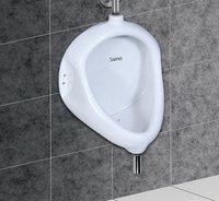 Gents urinal, flat back urinal