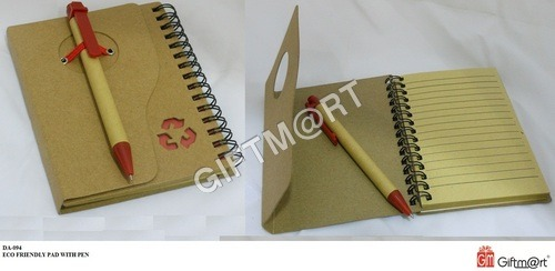 Eco Friendly Pad With Pen