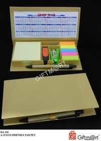 ECO FRIENDLY MEMO PAD PEN