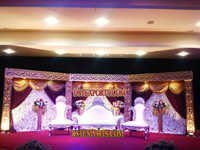 Latest Maharaja Wedding Stage Set