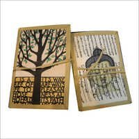 Colored Handmade Paper Notebook