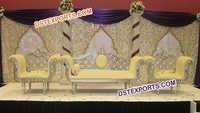 Muslim Wedding Beautiful Stage Set