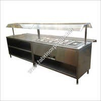 Stainless Steel Bain Marie & Serving Counter