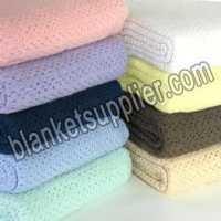 Wool Cellular Blankets