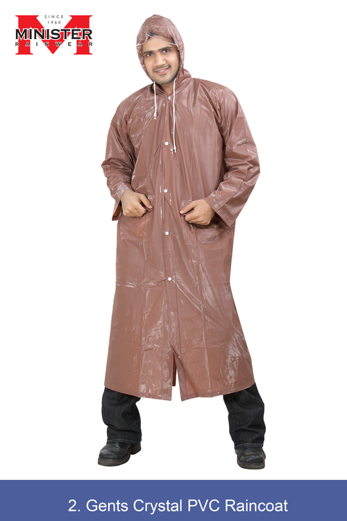 Crystal PVC Raincoat