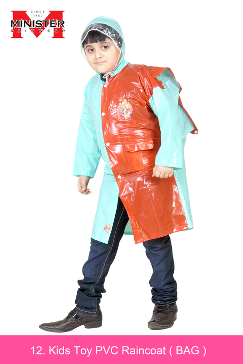 Kids Toy PVC Raincoat ( BAG )