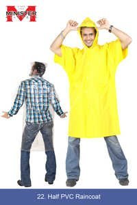 Half PVC Raincoat copy