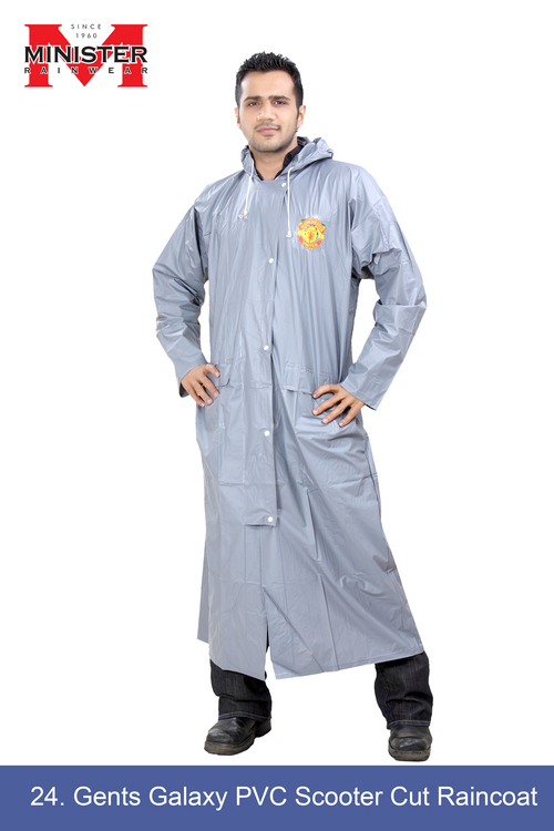 PVC Scooter Cut Raincoat