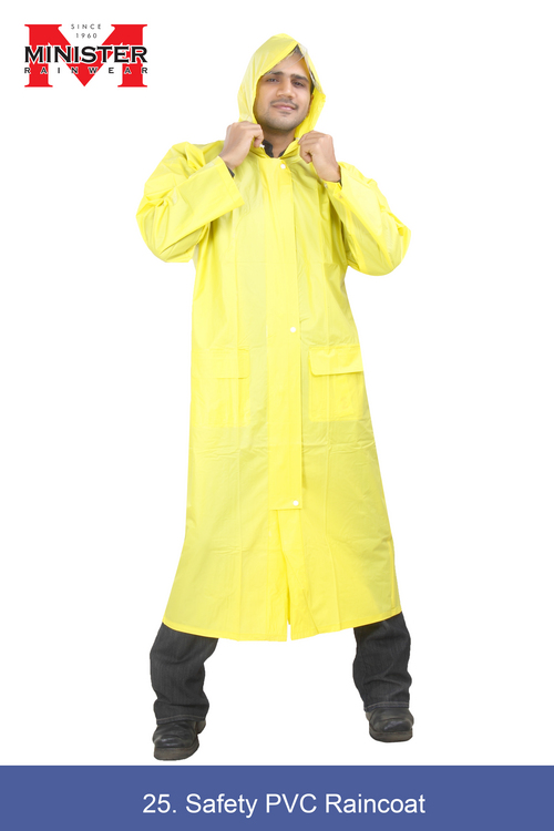 Safety PVC Raincoat