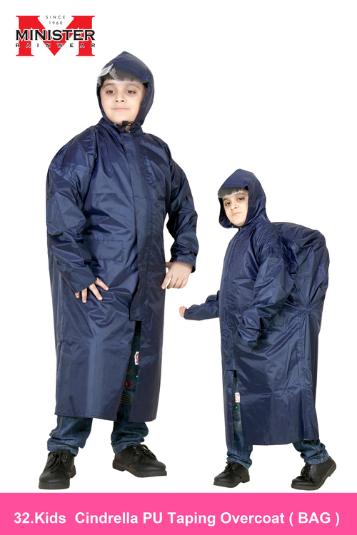 Kids Cindrella PU Taping Overcoat ( BAG )