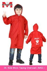 Kids Micro Taping Overcoat ( Bag )