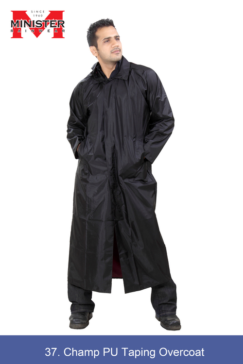 Champ PU Taping Overcoat