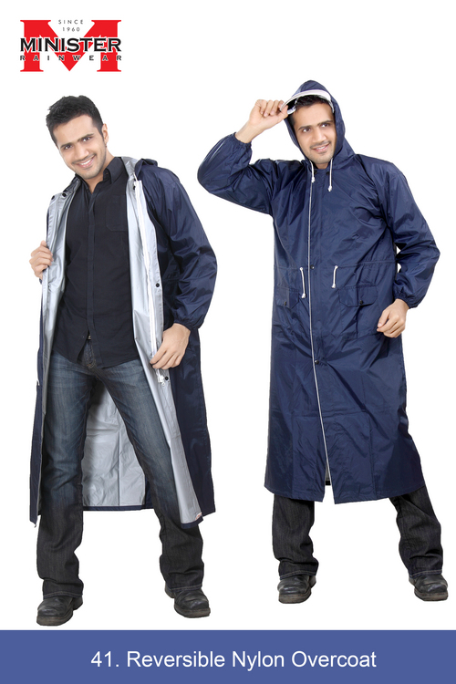 Reversible Nylon Overcoat