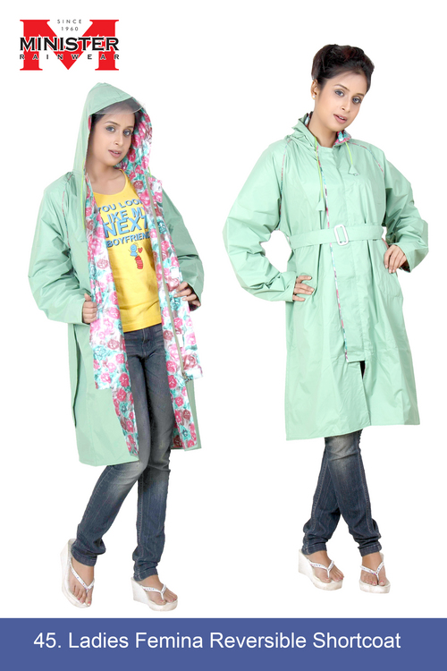 Ladies Femina Reversible Short Coat