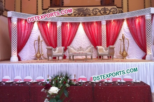 Latest Asian Wedding Decor Stage Set