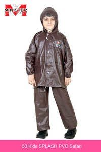Kids Splash PVC Raincoat