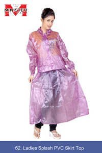 Ladies Splash PVC Raincoat Set