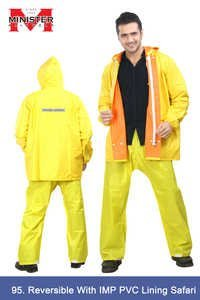 Reversible IMP PVC Lining Safari Yellow-Orange