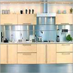 Post Forming Modular Kitchen