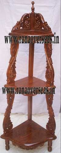Wooden Corner rack