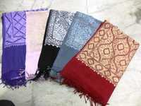 wool hand embroidery stoles
