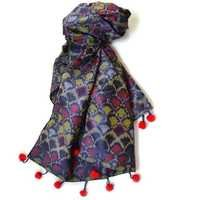 Printed Silk Stoles