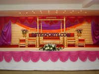 Wedding New Golden Swing Stage