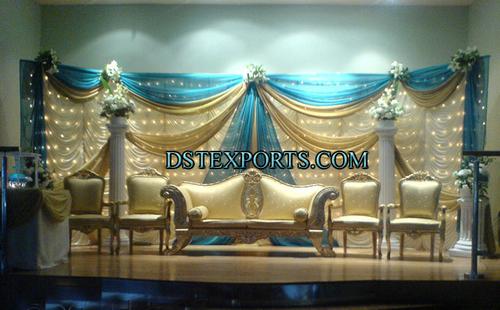 Muslim Walima Stage Set
