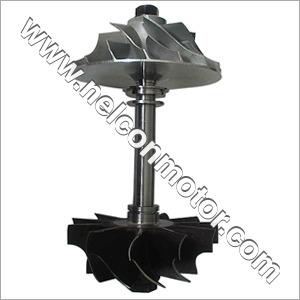 Turbocharger Shaft and  Wheel